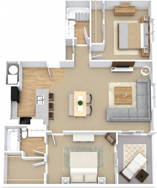 Alexander Pointe Apartment Homes #180